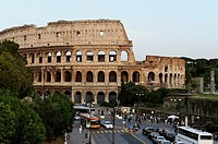 Colosseum at sunset, Rome