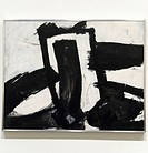 Untitled, 1952, by Franz Kline American, 1910-1962, Enamel on canvas, 53 3/8 x 68 in  135 6 x 172 7 cm, Metropolitan Museum of Art Modern Art Gallerie...