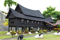 Malaysia, Melaka State, Stilt House