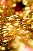 Tinsel, close_up