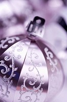 Close_up of a Christmas decoration