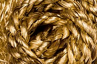 Rope in golden color