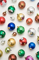 Colorful Christmas baubles (thumbnail)
