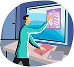 Doctor Examining X_Ray