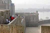 PROMENADE ON THE RAMPARTS LEAVING FROM THE LA HOLLANDE BASTION SAINT_MALO, ILLE_ET_VILAINE 35, FRANCE