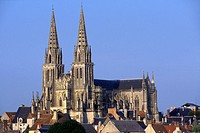 SEES CATHEDRAL, ORNE 61, NORMANDIE, FRANCE