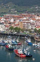 Fishing village of Bermeo, Vizcaya  Basque country  Spain