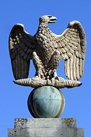 IMPERIAL EAGLE, CHATEAU OF FONTAINEBLEAU LISTED AS A WORLD HERITAGE SITE BY UNESCO, FONTAINEBLEAU, SEINE ET MARNE 77, FRANCE