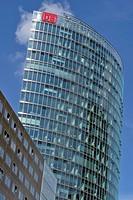 DEUTSCHE BAHN TOWER, DB TOWER SONY CENTER ARCHITECT: HELMUT JAHN, POTSDAMER PLATZ, BERLIN, GERMANY