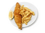 A Plate of Fish and Chips