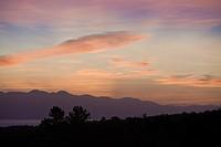 Sunset on Pico, Pico Island, Azores, Portugal
