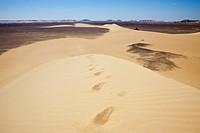 Sand Dune in Libyan Desert, Libyan Desert, Egypt