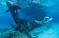 Catalina Wreck, Cocos Keeling Islands, Australia