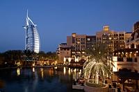 Burj al Arab, Medinat Jumeirah Hotel, Dubai UAE