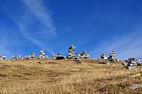 Steinhaufen im Pizolgebiet