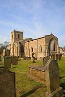 Holy Trinity Church, Wensley, North Yorkshire, England, UK