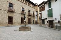 Gudar mountains Rubielos de Mora Teruel province Spain