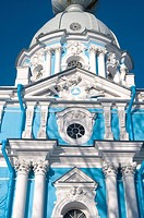 Russia, St Petersburg, Smolny cathedral