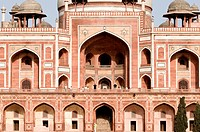 India, New Delhi, Humayun's tomb