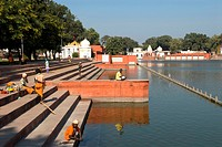 India, Haryana, Kurukshetra, Sannihit Sarovar