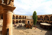 Cyprus, Nicosia, B&#252;y&#252;k Han caravanserai