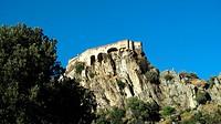 France, Corsica, Corte, the citadel