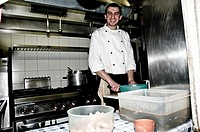 Cook in Venice, Italy