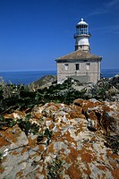 Palagruza Lighthouse, Palagruza Island, Adria, Croatia