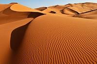 Merzouga sand dunes Sahara