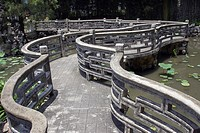 Nine Turn Bridge, Lou Lim Loec Gardens, Macau, China