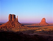 Monument Valley National Park, Arizona at sunset - USA