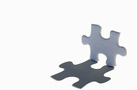 A Jigsaw Piece and its shadow