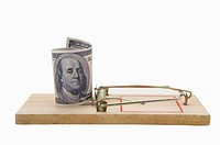 Paper Currency on a Mousetrap