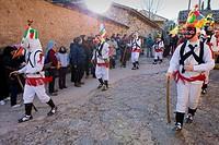 Botargas  Carnival, Almiruete  Tamajon, Guadalajara province, Castilla-La Mancha, Spain