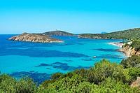 Beach. Southwest Sardinia. Costa del Sud. Sardinia. Italy.