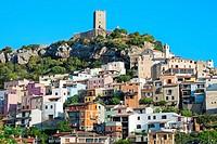 Village of Posada. Sardinia. Italy.