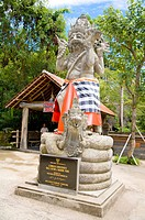 A sculpture in the Bali Safari & Marine Park
