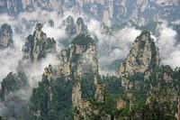 Zhangjiajie National Forest Park, Wulingyuan Scenic Area, Zhangjiajie, Hunan Province, China