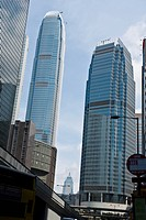 Skyscrapers in Central District, Hong Kong, China