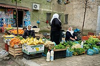 Market. Tirana. Albania.