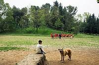 Park. Tirana. Albania.