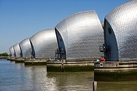 Thames Barrier, Woolwich, London, England