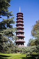 The Pagoda, Kew Gardens, London, England