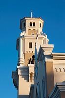Puerto Rico, South Coast, Yauco, Iglesia Catolica Nuestra Senora del Rosario church.