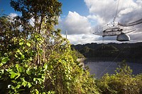 Puerto Rico, North Coast, Arecibo, Arecibo Observatory, world´s largest radio telescope.