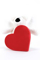 heart shape and doll