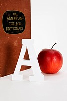 Apple, A and dictionary (thumbnail)