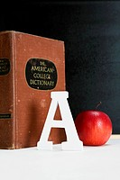 apple, A and dictionary