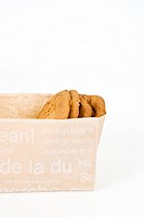 cookies in paper bag