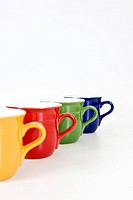coloful cups